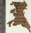 Papyrusfrag